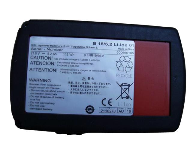 HILTI baterias